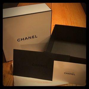 Chanel Gift Box, Tissue, Card Holder
